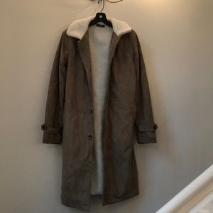 SHEIN Jackets & Coats - Shearling Jacket